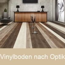 Vinylboden nach Optik