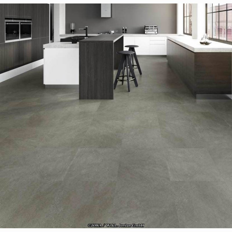 joka design 555 sl dark concrete 5608 vinylboden. Black Bedroom Furniture Sets. Home Design Ideas