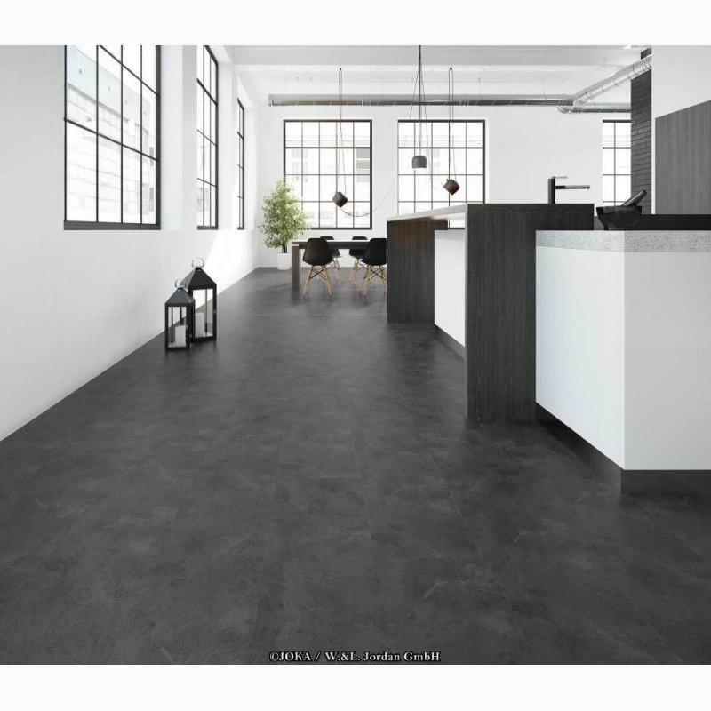 joka classic design 330 grey slate 2806 vinylboden. Black Bedroom Furniture Sets. Home Design Ideas