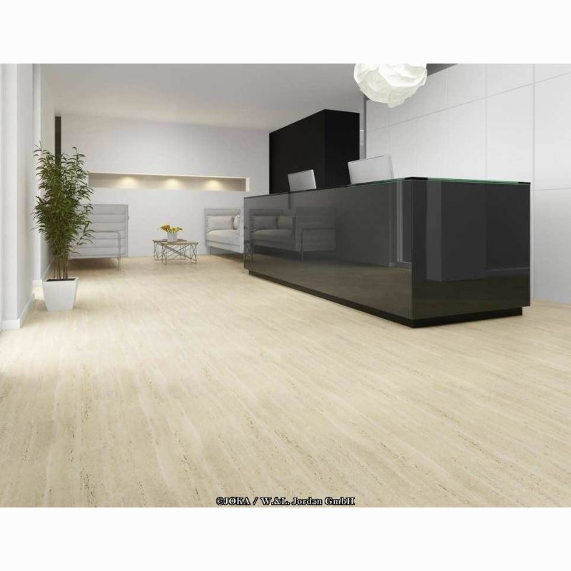 joka classic design 555 click travertine 415 klick vinylboden designbodenbelag g nstig. Black Bedroom Furniture Sets. Home Design Ideas