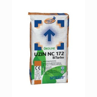 Uzin NC172 BiTurbo Zement-Schnellspachtelmasse mit Level Plus Effect, 25kg Sack
