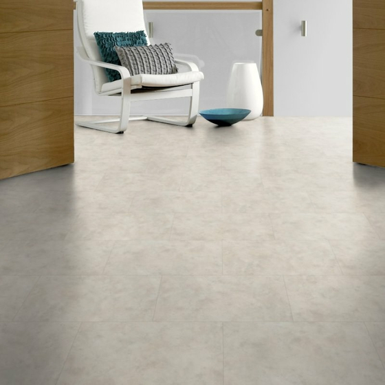 Amtico Spacia Acoustic - Limestone Cool SQ5S1561 | Vinylboden