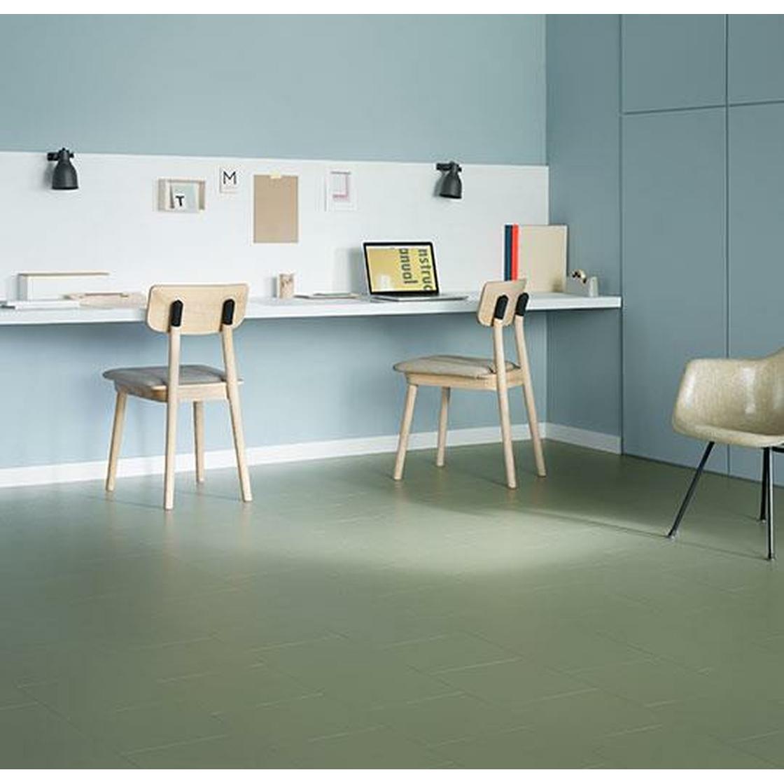 forbo marmoleum click rosemary green 333355 klick linoleum gesunder bodenbelag. Black Bedroom Furniture Sets. Home Design Ideas
