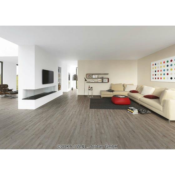 joka naturdesignboden 633 warm oak 255 bio klick vinylboden g nstig kaufen onlineshop. Black Bedroom Furniture Sets. Home Design Ideas