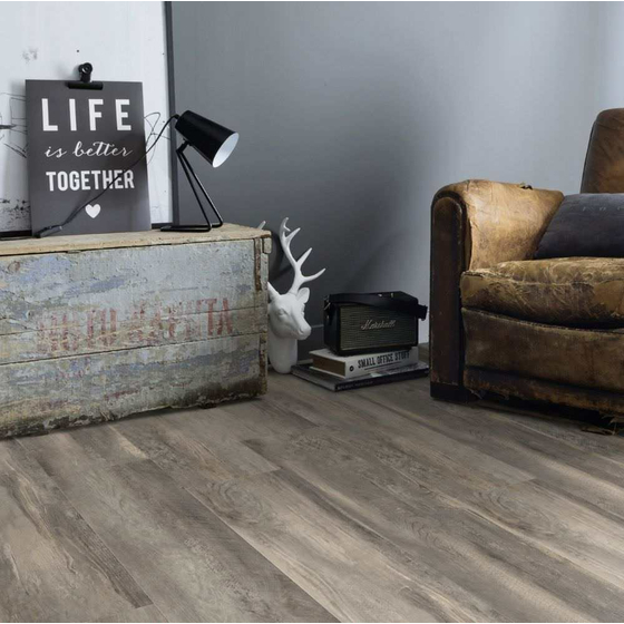 Gerflor Collection 55 - Paint Wood Taupe 0856 | Vinylboden