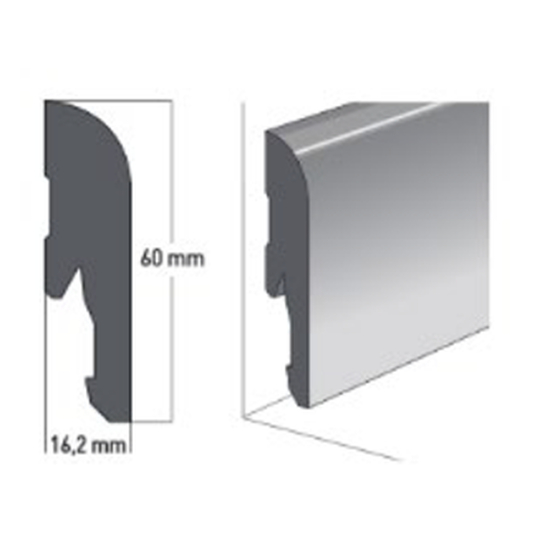 Gerflor - Sockelleiste SO Viajo Grey 0009