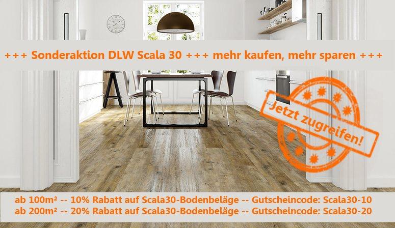 DLW Scala 30 Rabattaktion auf alle Klebeplanken